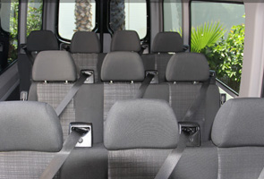 12 Passenger Sprniter Van Rental Seats