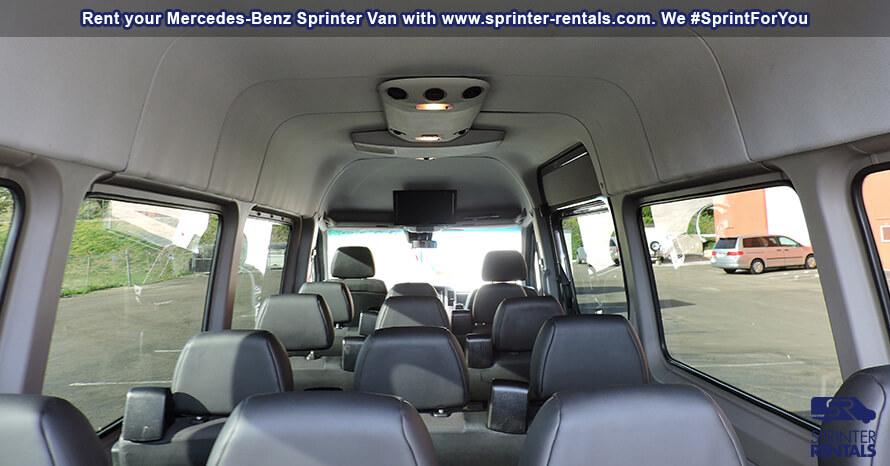 15 Passenger Van Rental | Sprinter Van Rentals USA