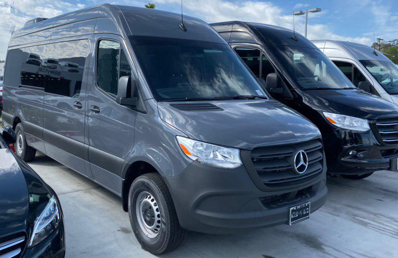 9 Passenger Mercedes Sprinter van rental