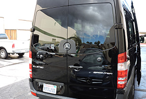 15 Passenger Sprinter Van Back