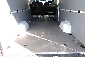 crew cargo van rental cargo space