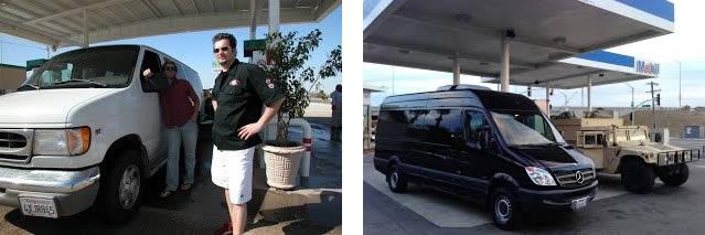 fuel economy sprinter van rentals