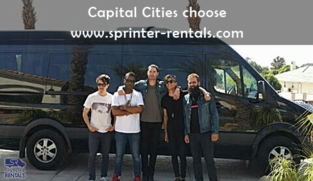 Capital Cities choose Sprinter Rentals