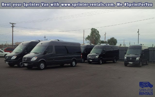 Sprinter Rentals Van Fleet Super Bowl