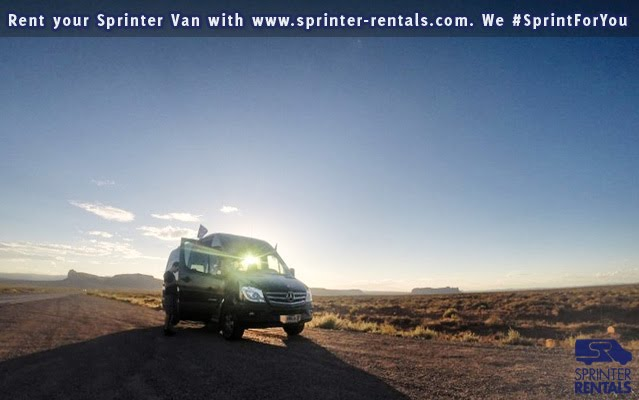 Student Spring break trip with a Sprinter Van