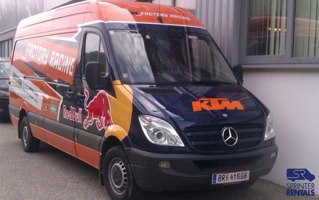 Motocross Sprinter Race Van