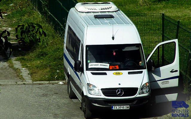 Sprinter Passenger Van used as school bus in Bulgaria