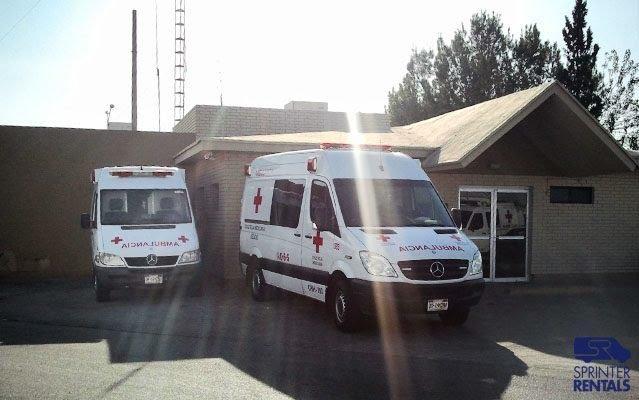 Sprinter van ambulance