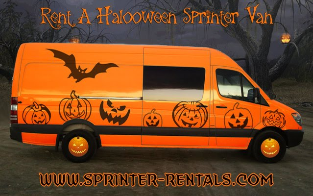 Halloween Sprinter Van Rental