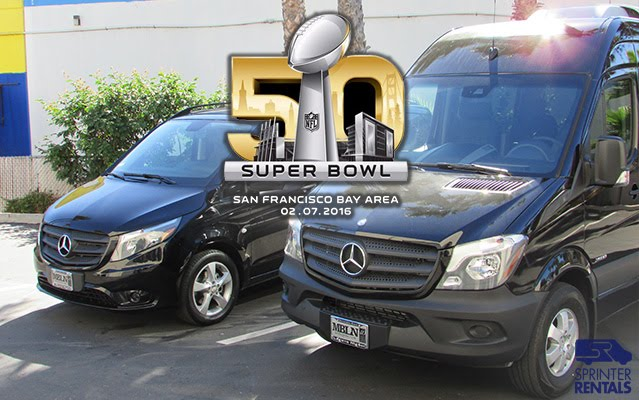 Superbowl 50 San Francisco Sprinter Van Rentals