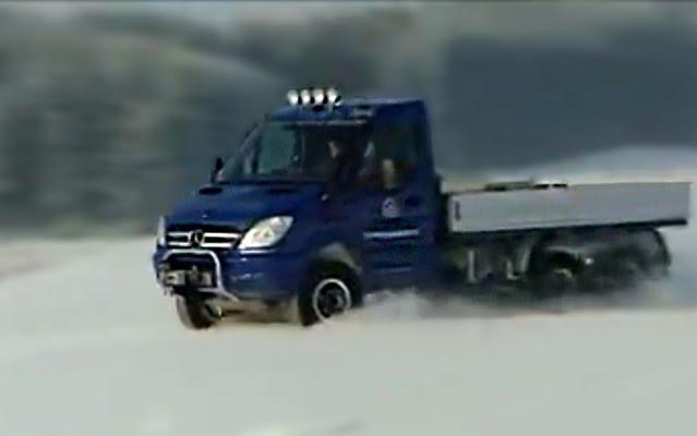 Oberaigner Sprinter Van 6x6