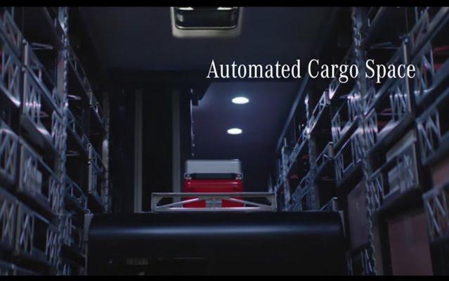 vision van cargo space