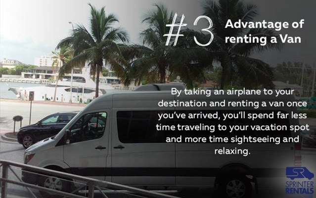 Rent a Sprinter Van at airport