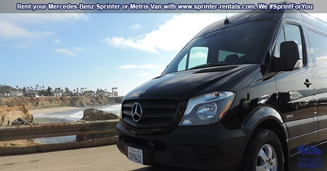 Sprinter Van road trip California