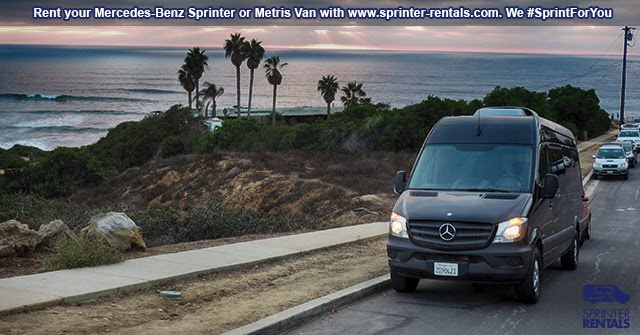 Sprinter Van Roadtrip Los Angeles