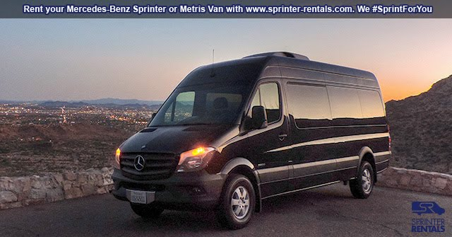 Sprinter Van California road adventures
