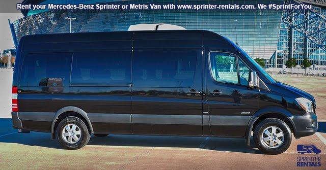 luxury large van rentals in Las Vegas