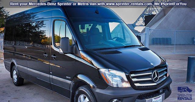 Las Vegas Large Van rentals