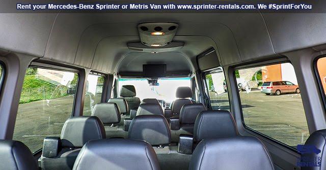 large passenger van rentals in Las Vegas