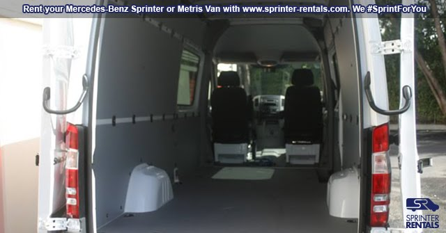 Sprinter Cargo vans for rent