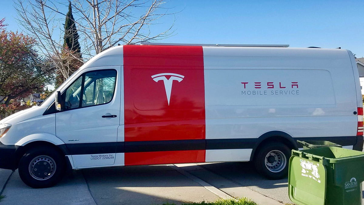 Tesla Mercedes Benz Talking About Electric Sprinter Van Collaboration