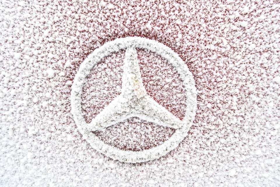 Mercedes-Benz Snowy logo
